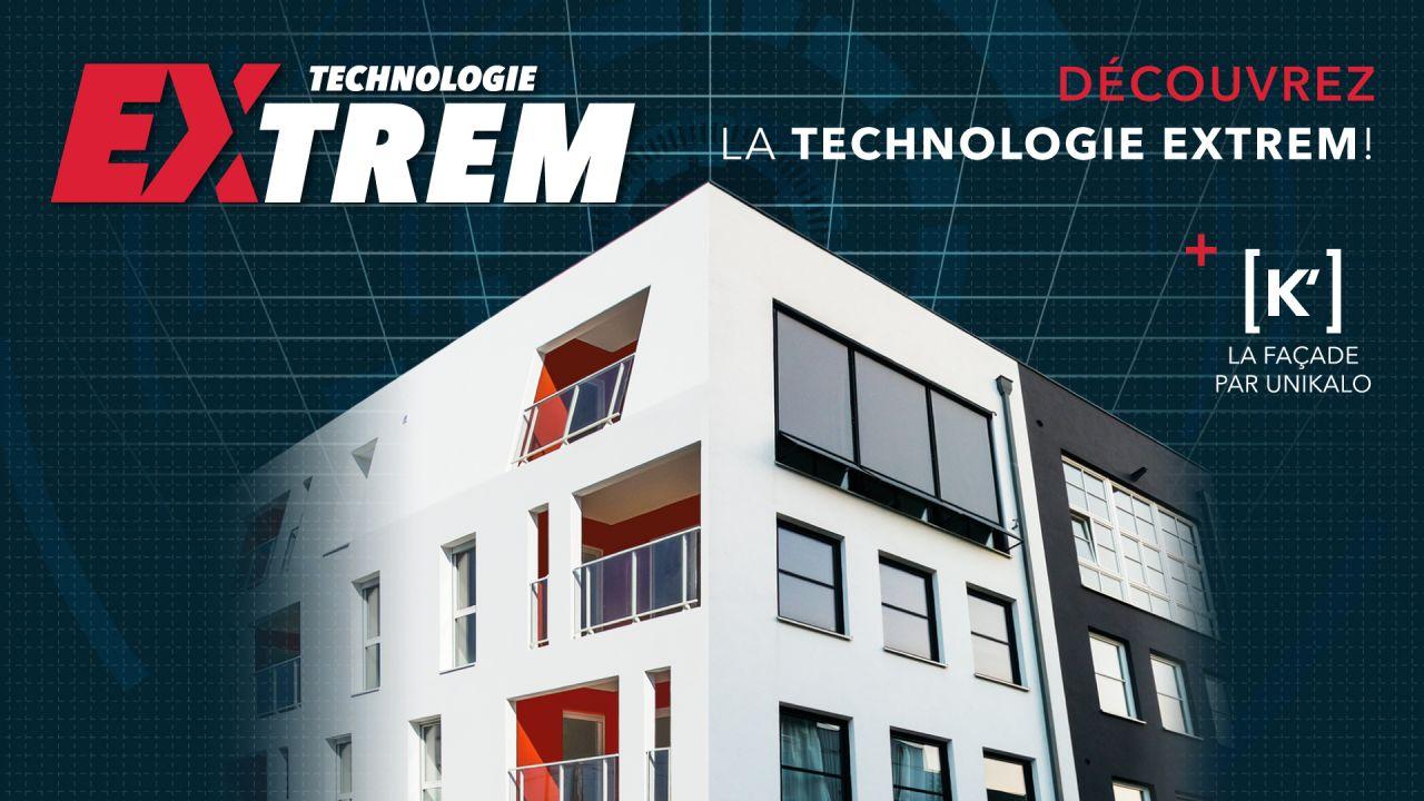 Technologie extrem : gamme de peinture façade